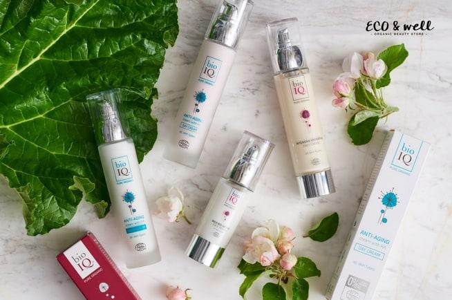 ekologiczne kosmetyki bio iq do twarzy, krem serum odżywcze i nawilżajace