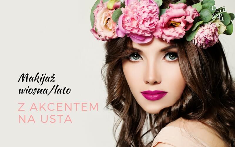 makijaż mineralny, inspiracja na wiosnę, lato