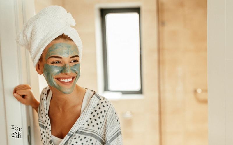 maseczka na twarz z zielonej glinki