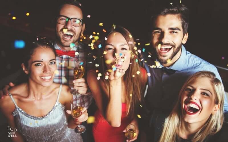 Sylwester, nowy rok, karnawał, jak ładnie wyglądać
