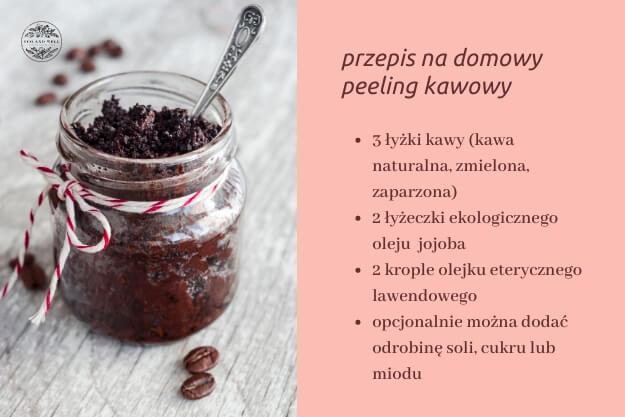 przepis na domowy peeling kawowy, srub do ciała z kawy