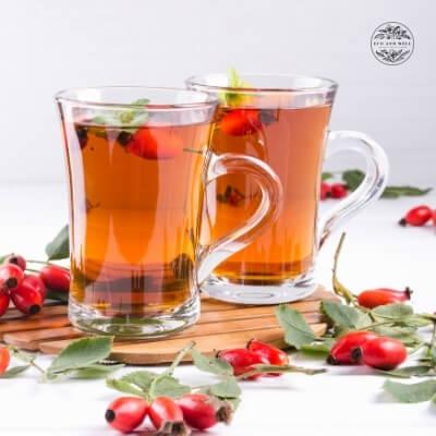 herbata na odporność, herbata z dziką różą
