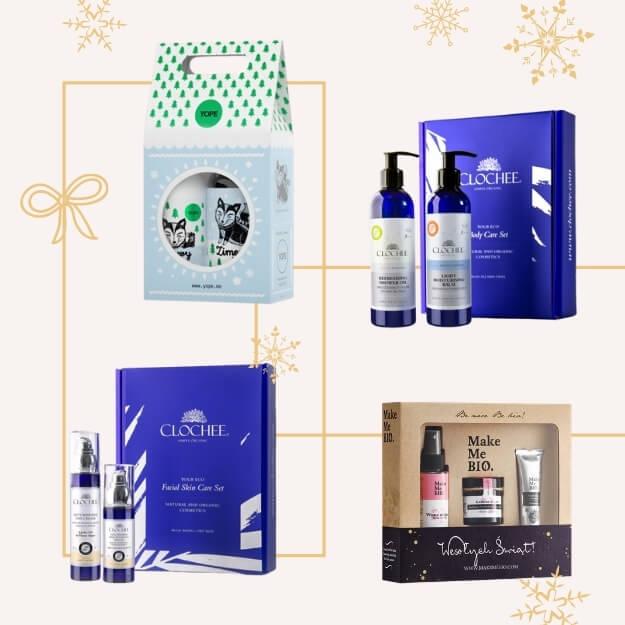 zestaw prezentowy kosmetyków ekologicznych
