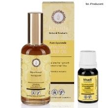 olejek wzmacniający włosy Khadi