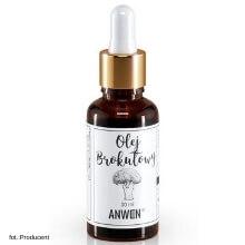 anwen olej brokułowy do włosów o wysokiej porowatości